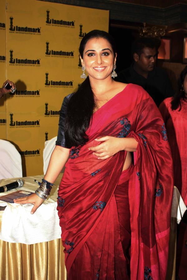 Vidya Balan Spotted At Launching A Novel Named Unhooked Party