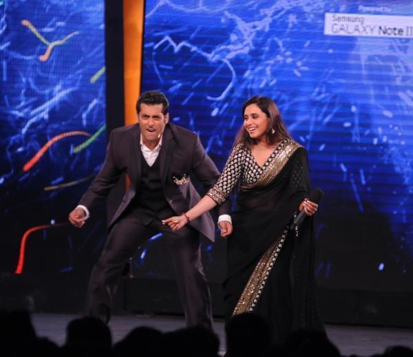 Salman And Rani Dancing On The Opening Episode Of Bigg Boss-6