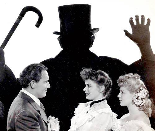 Spencer,Ingrid And Donald In 1941 Forror Film Dr. Jekyll and Mr. Hyde