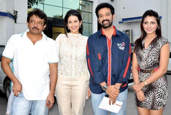 Manisha,JD Chakravarthy And Madhu At Bhoot Returns Promo Event