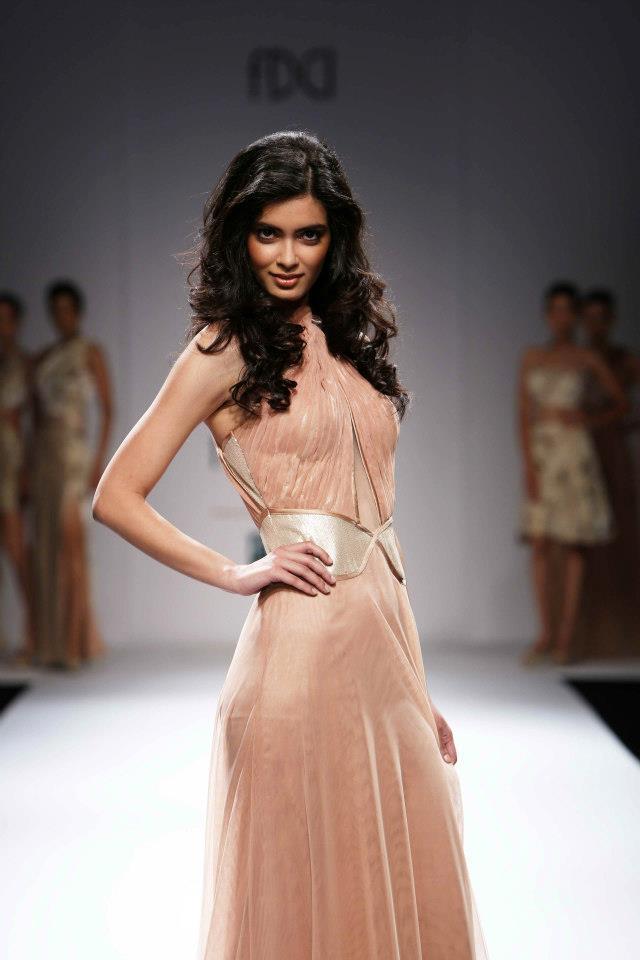 Diana Penty At Wills Lifestyle India Fashion Week 2012