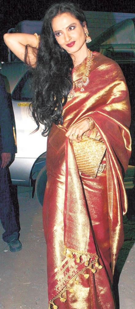 Bollywood Actresses in Kanjivaram Silk Sarees