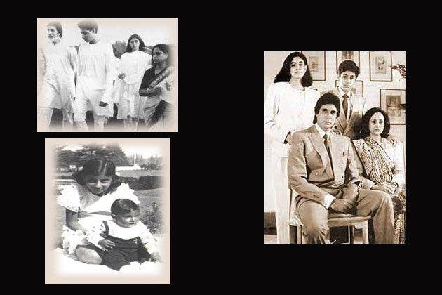 Amitabh,Jaya,Abhishek And Shweta Nice Photo