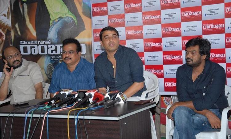 Puri Jagannath And Dil Raju At CGR Press Meet Event