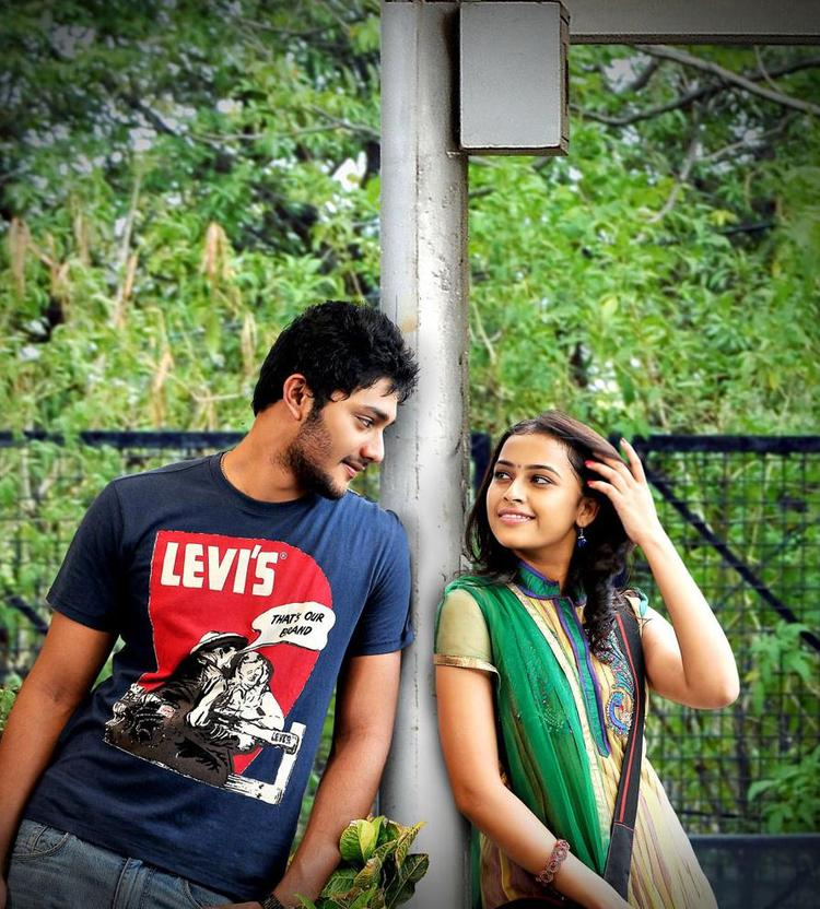 Prince And Sri Divya In Bus Stop Movie