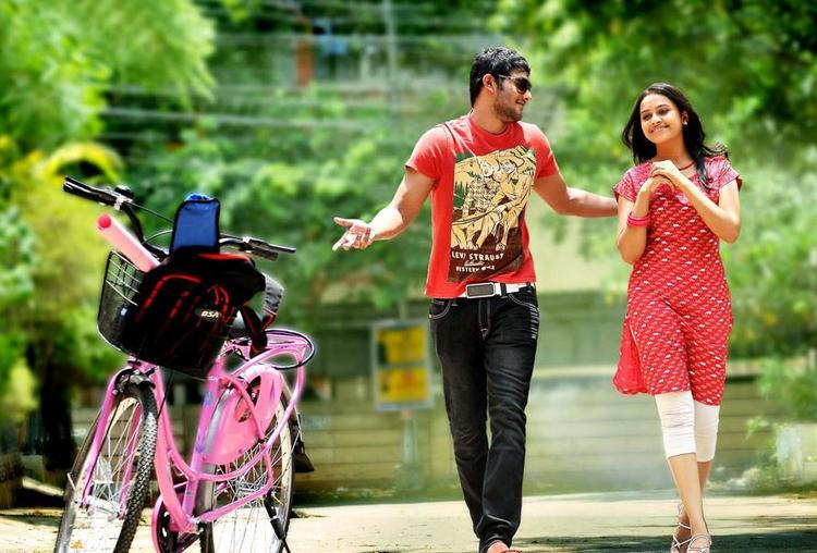 Prince And Sri Divya Cool Still From Bus Stop Movie