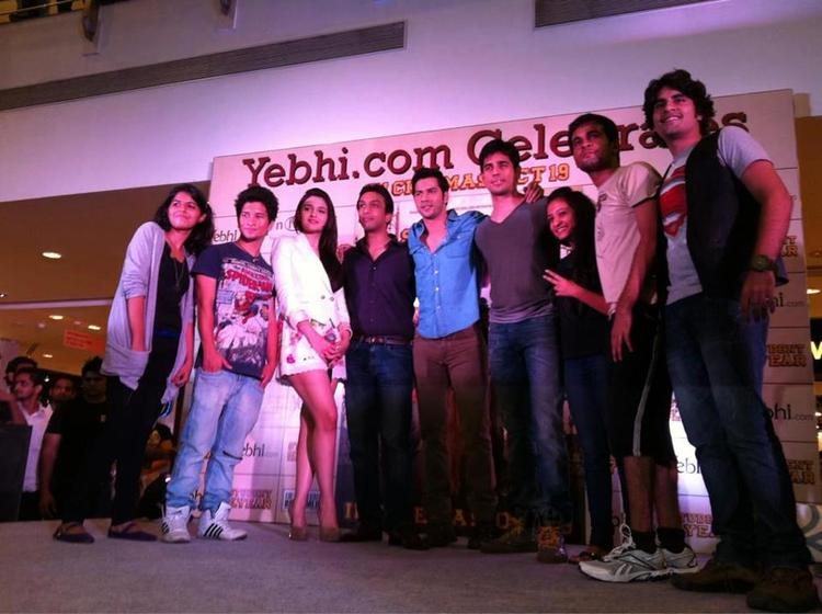 Soty Team Pose For Click At Infiniti Mall In Mumbai