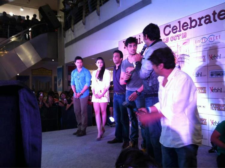 SOTY Team Spotted At Infinity Mall For Promoting SOTY Movie