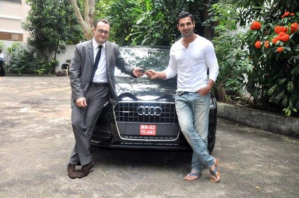 John Abraham With His Brother Cool Still
