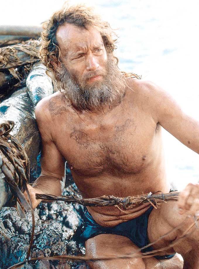 Tom Hanks A Still From Castaway Movie