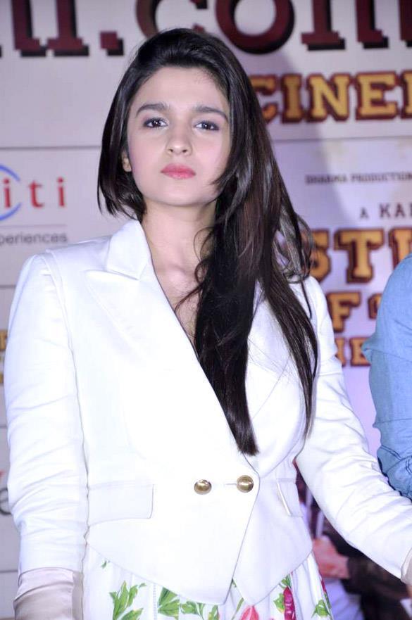 Alia Bhatt Nice Look Still At Movie Launch Event