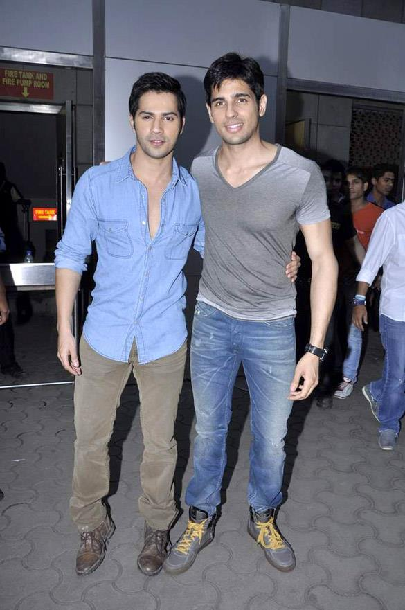 Siddharth And Varun At Movie Launch Event