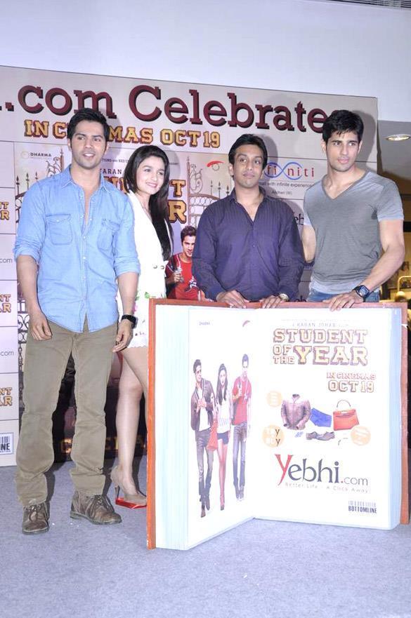 SOTY And Yebhi.com Unveil SOTY Merchandise