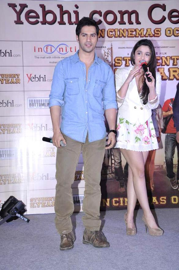 Varun And Alia Promoting Their Upcoming Movie SOTY