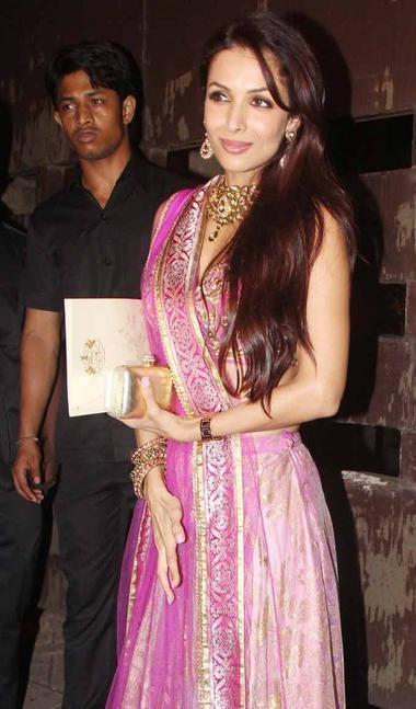 Malaika Arora Khan at Sangeet