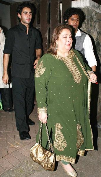 Reema Jain and Armaan at Sangeet