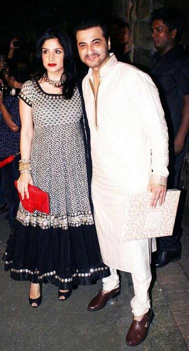 Sanjay Kapoor with Wife Maheep