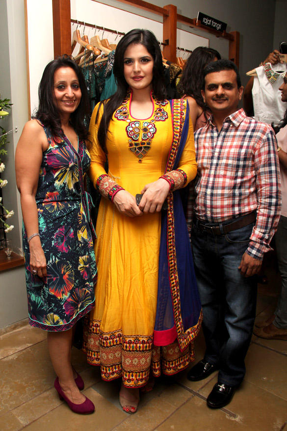 Zarine Khan At The Fashion Store Collection Launch Event