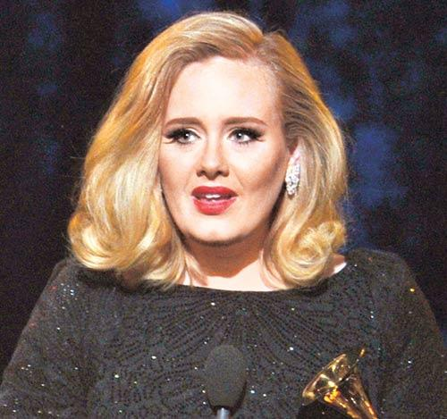 Adele Glamour Look Still
