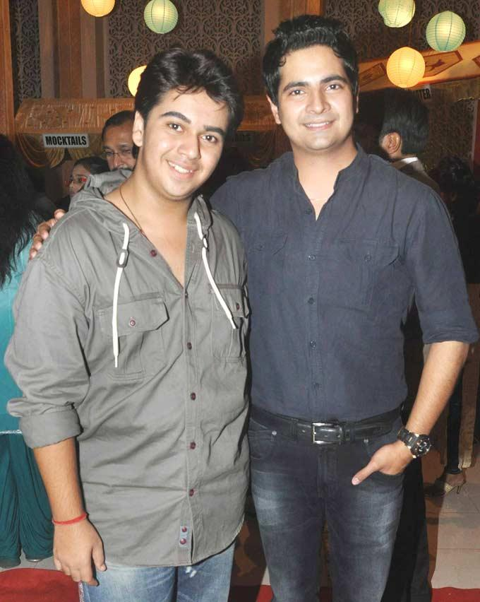Aman And Karan At The Party Of Yeh Rishta Kya Kehlata Hai