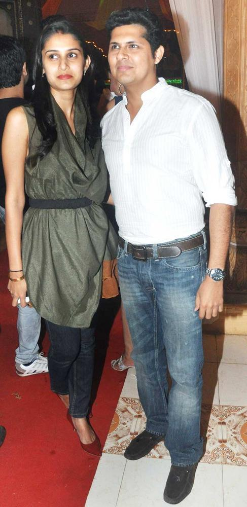 Vishal With Wife Rashi At The Party Of Yeh Rishta Kya Kehlata Hai
