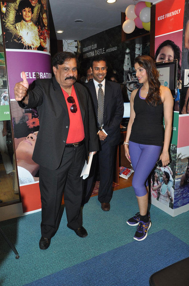 Aarti Chhabria At  Country Club Set Up Fitness Center Launching Event