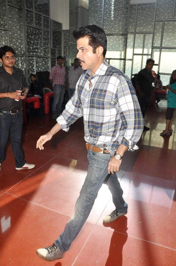 Anil Kapoor Snapped At Cinemax