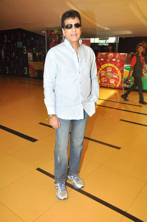 Jeetendra Kapoor Spotted At Cinemax