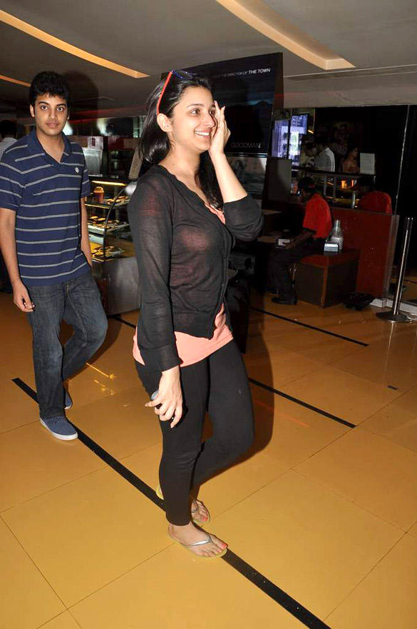 Parineeti Chopra Spotted At Cinemax In Mumbai