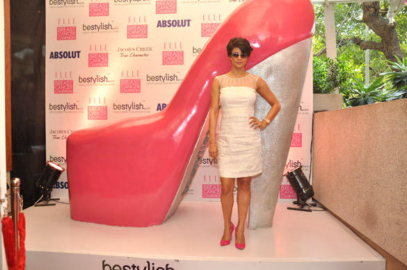 Gul Panag At Bestylish.com's Breast Cancer Awareness Event