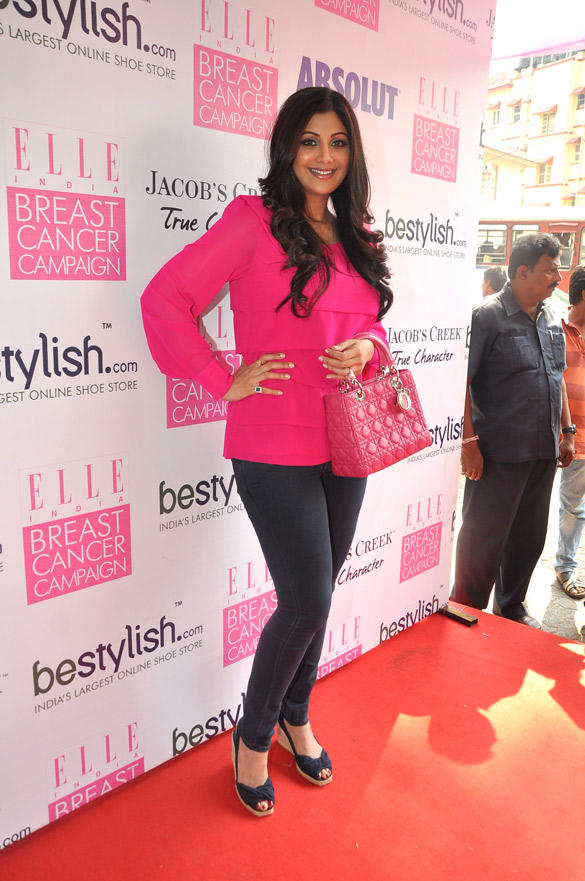 Shilpa Shetty At Breast Awareness Campaign