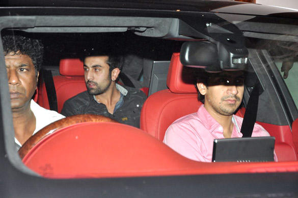 Ranbir Kapoor At Zoya Akhtar's Birthday Bash