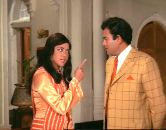Hema Malini And Sanjeev Kumar Still