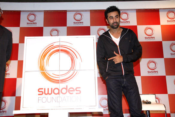 Ranbir At Launch of Swades Foundation New Logo