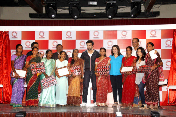 Ranbir,Farah And Ashutosh At The Launching Event Of Swades Foundation