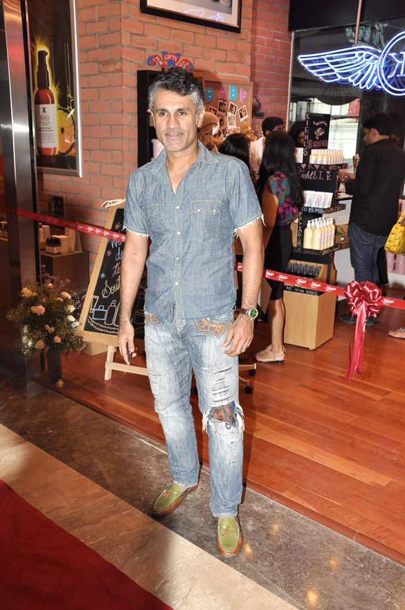 Arjun Khanna At The Launch Of The Kiehl Store