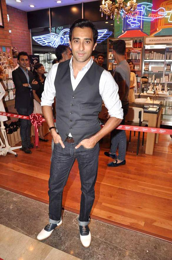 Rahul Khanna At Kiehls Mumbai Launch Event