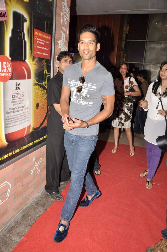Siddhartha At The Launch Of The Newest Kiehls Store At Palladium