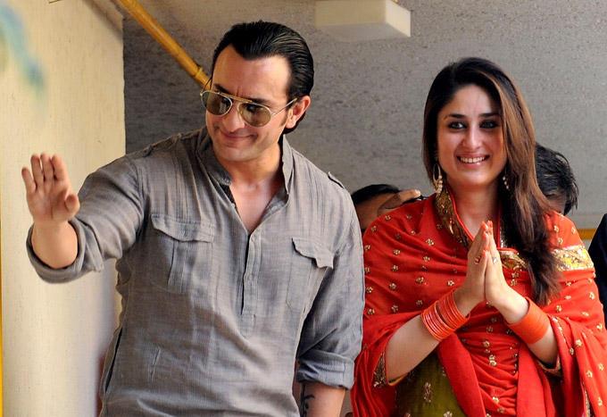Saif And Kareena Nice Look Still After Marriage