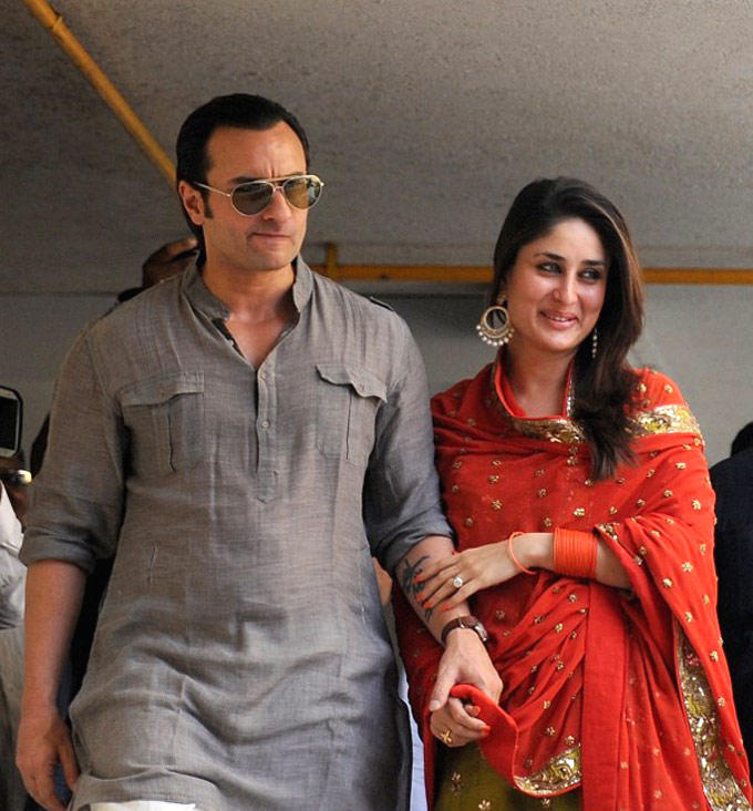 Saif And Kareena Still After Their Registered Marriage