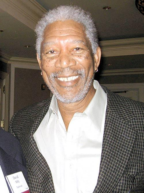 Morgan Freeman Smiling Pic