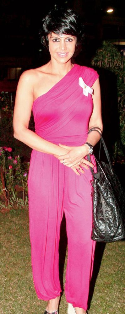 Mandira Bedi At Breast Cancer Awareness Event