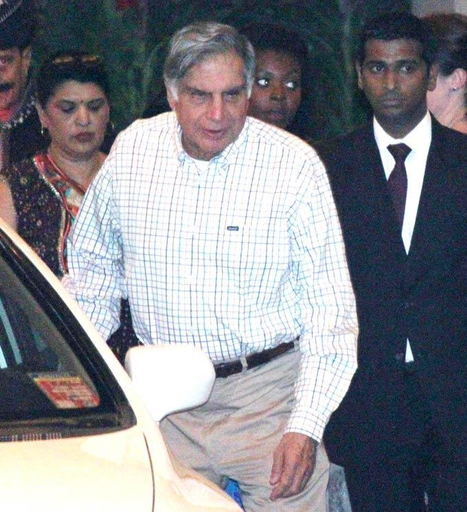 Ratan Tata Spotted At Saif And Kareena Wedding