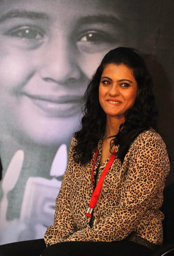 Kajol Devgan At Hand Washing Campaign