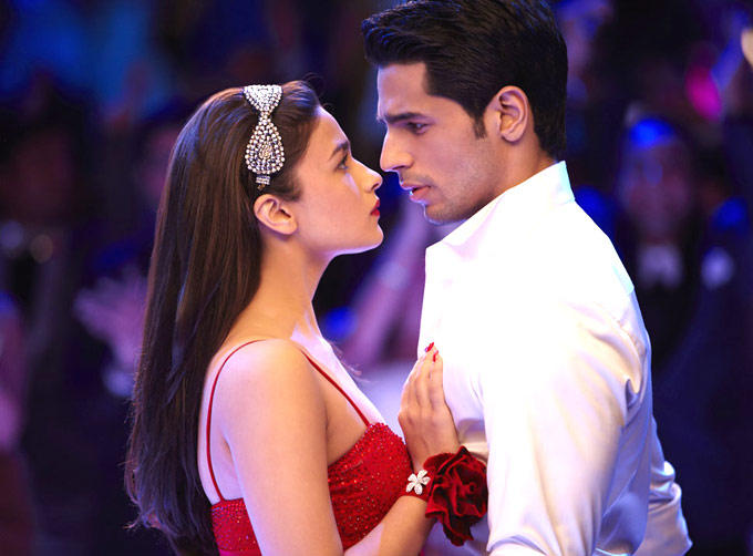 Siddharth And Alia A Still From SOTY Movie