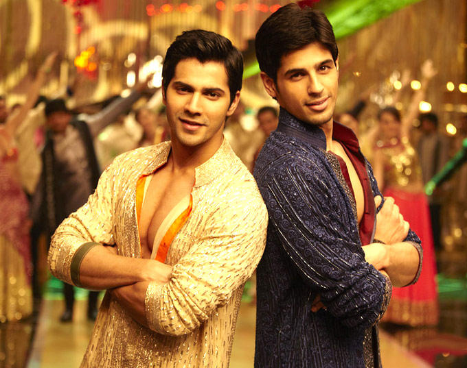 Siddharth And Varun Dancing Still From SOTY