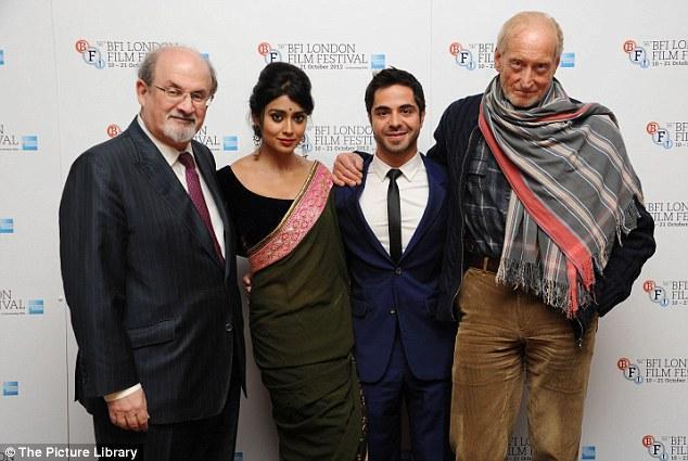 Salman Rushdie,Shriya Saran,Satya Bhabha And Charles Dance At The 56th BFI London Film Festival Premiere Event
