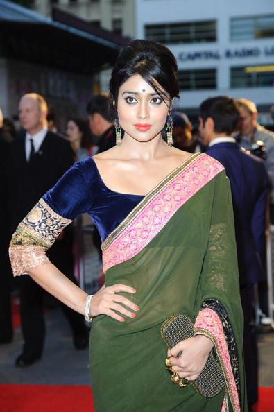 Shriya At The 56th BFI London Film Festival Premiere Event