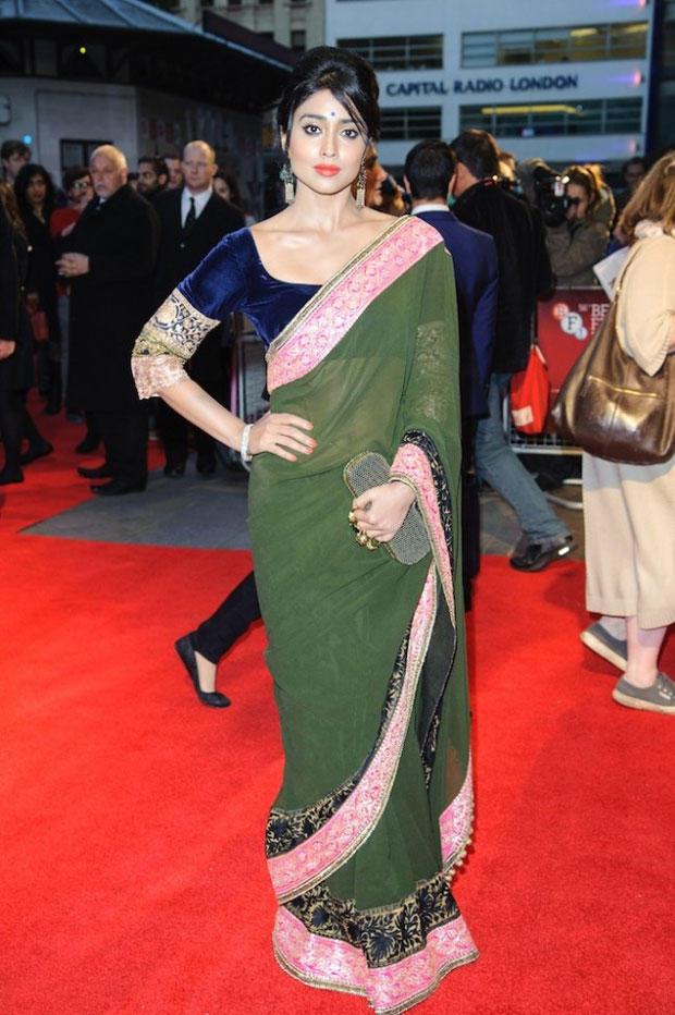 Shriya Cool Still At 56th BFI London Film Festival Premiere