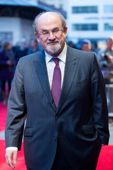 Writer Salman Rushdie Nice Photo At The Premiere Of Midnight Children